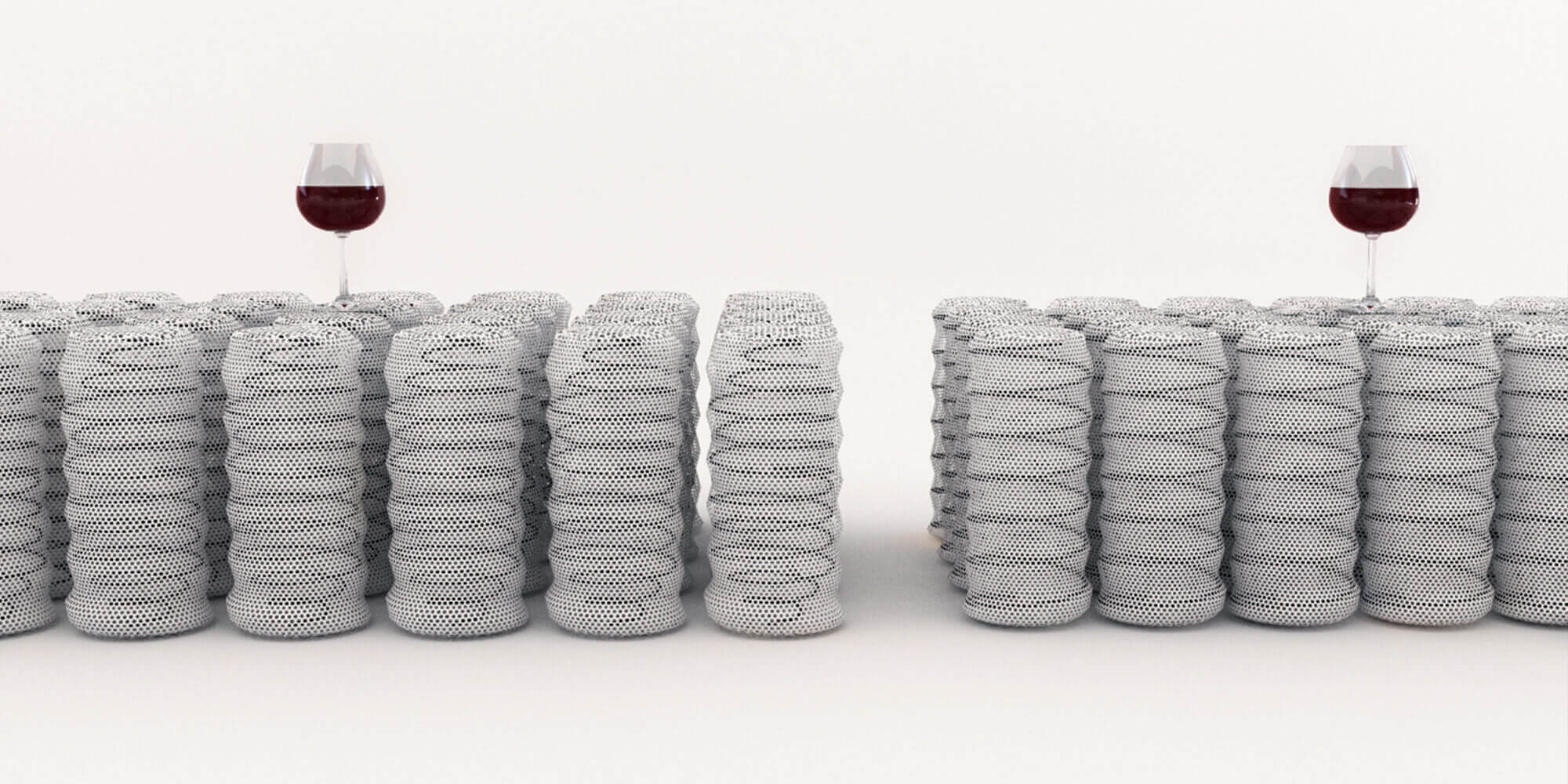 Technical mattress animation