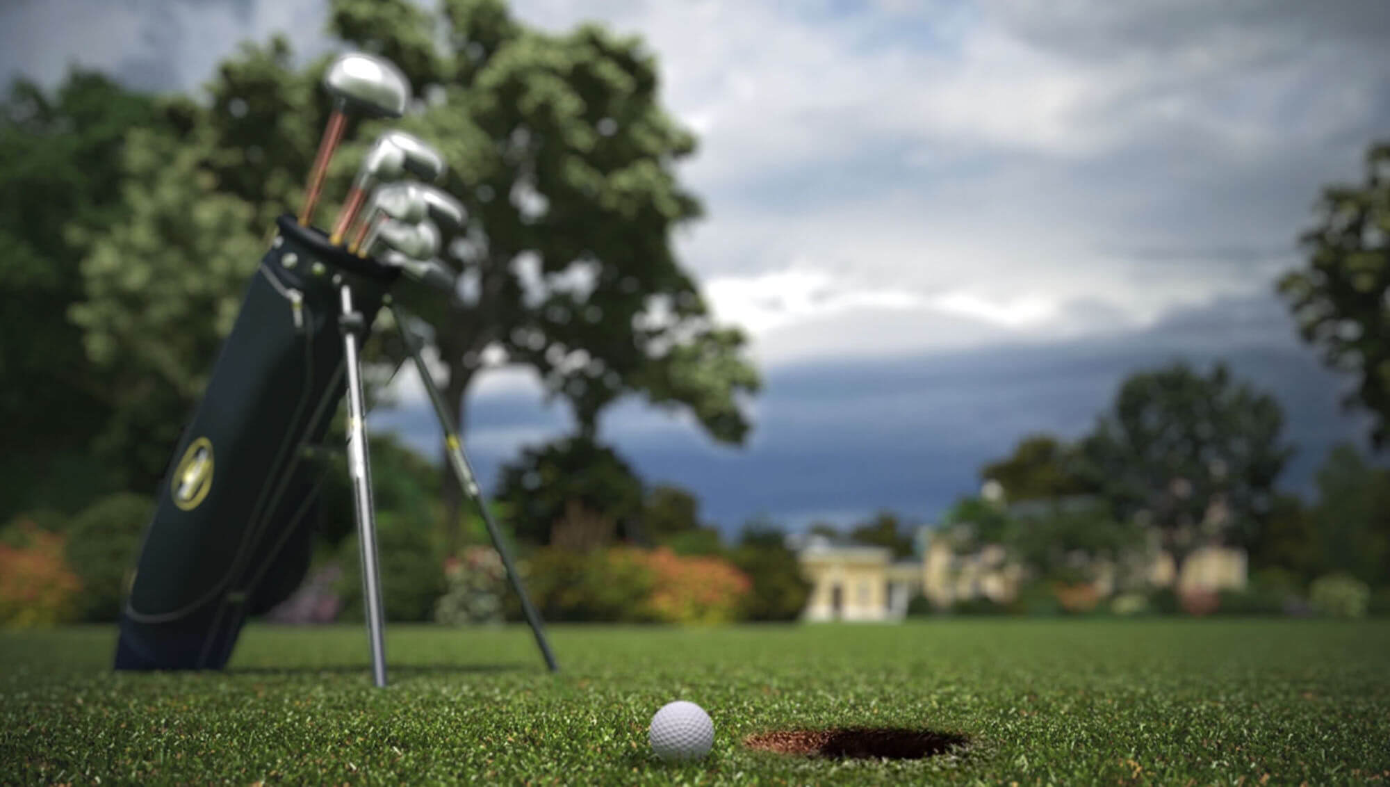 Animation of Golf Course