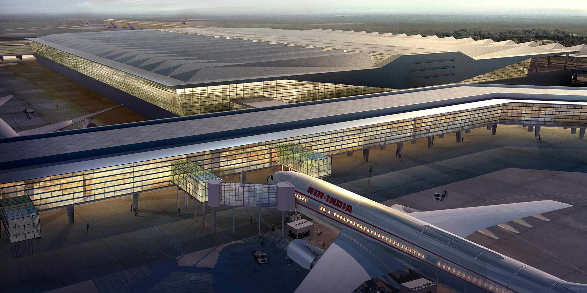 Architectural Visualisation – Airport Terminal Launch