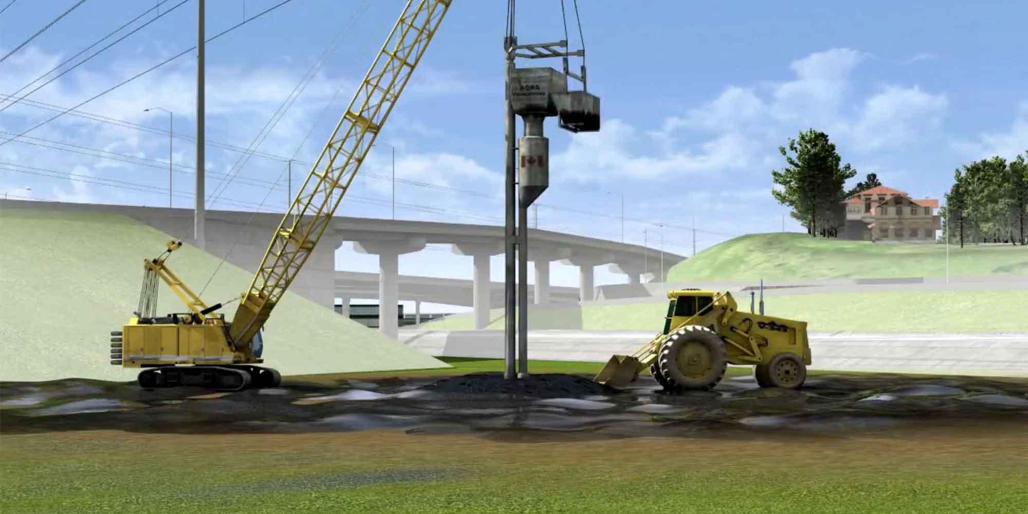 Exterior Animation – Port Mann Highway