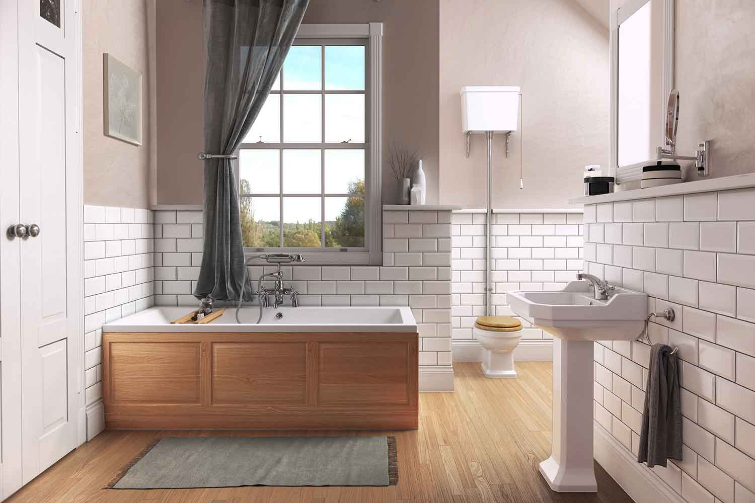 Pura Bathroom Roomset