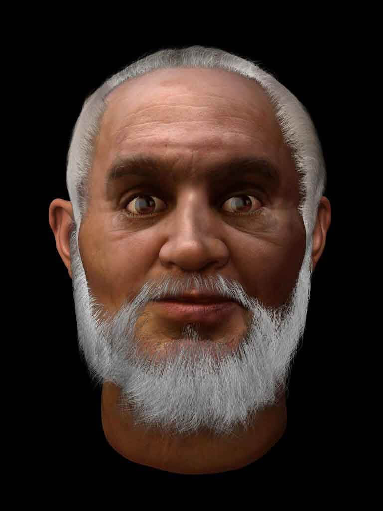 Visualisation of The Real Face of St. Nicholas