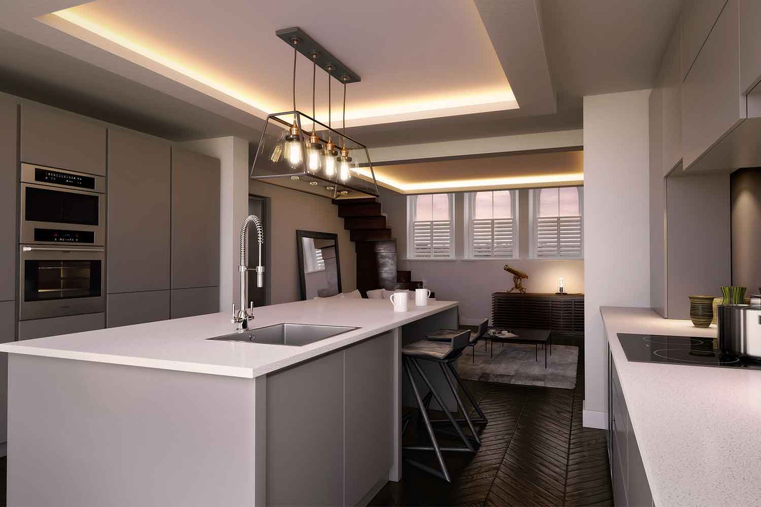 CGI Creation 3D Architectural Renderings