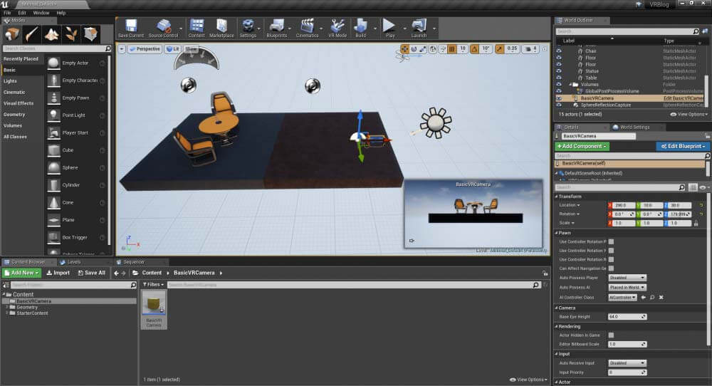 Hotspots | How To Setup Virtual Reality in Unreal Engine