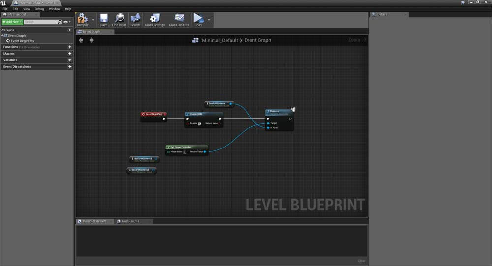 Controlling Camera in VR Unreal Engine