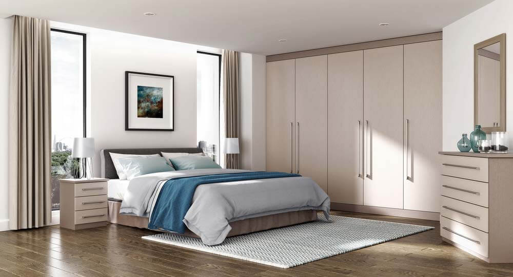 Bedroom Door Visualisation Interior CGI