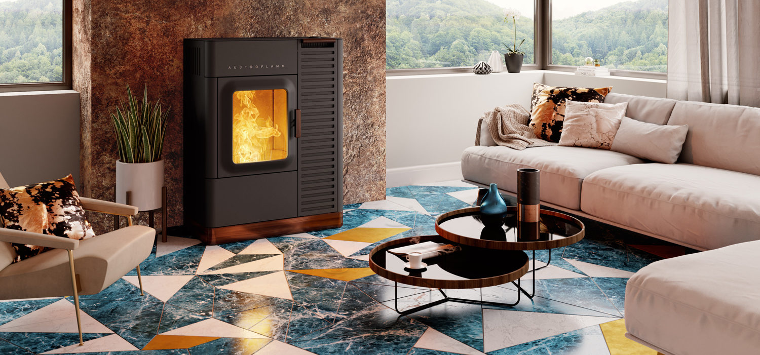 Product Visualisation – Luxury Fireplaces