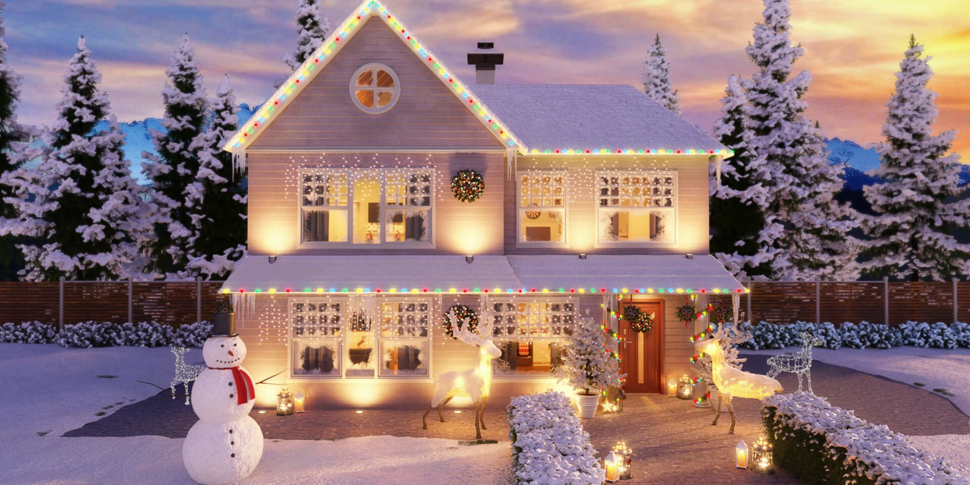 Pentatonix Christmas House