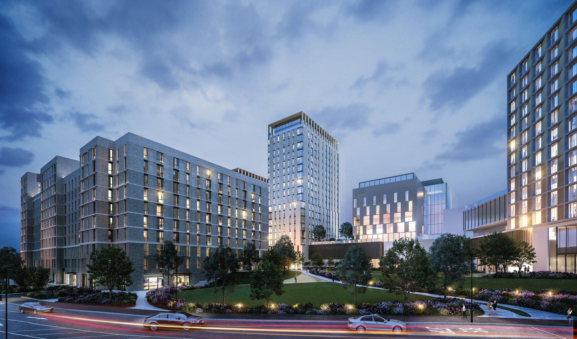 Architectural Visualisation – Apartment Blocks