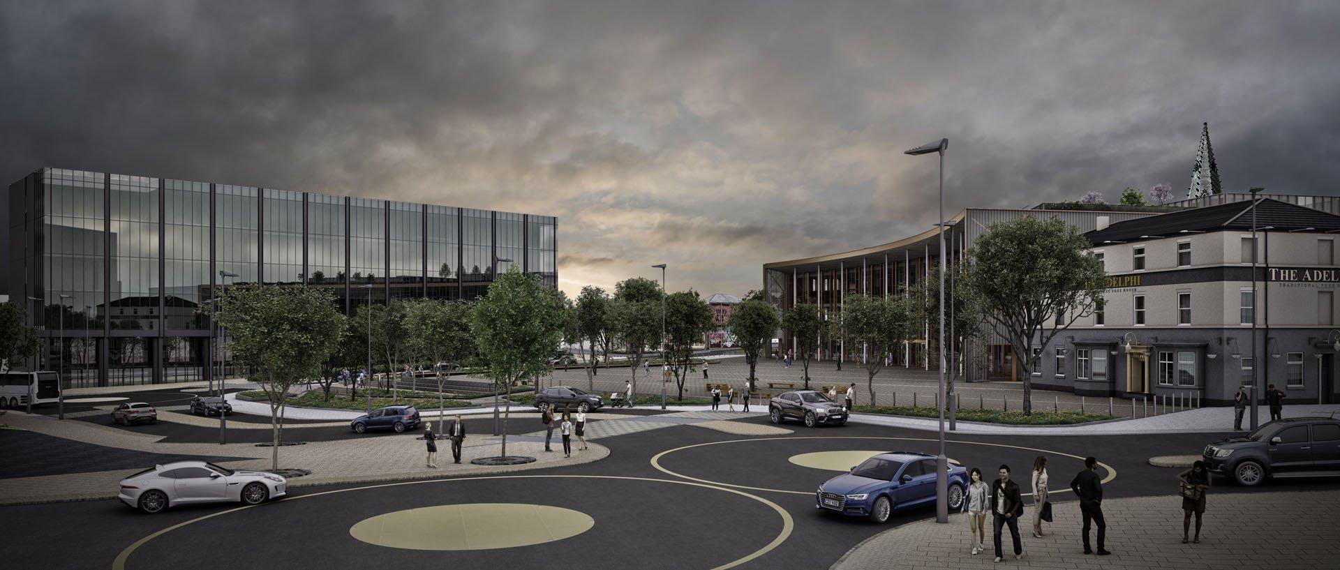 Architectural Visulisation -Masterplan