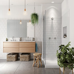 3D Bathroom Renders Agency - Shower Image Foundry
