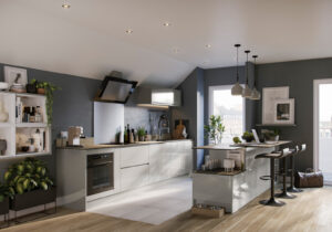 3D Kitchen Renders Agency - Property Image Foundry