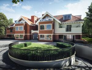 3D Render Designer - Exterior Large House Image Foundry