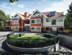 CGI Render Supplier - Exterior Large House Image Foundry