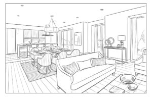 Mood Board Sketch - PHP001 Oakhouse Image Foundry