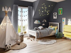Trend Led Interior Shot - Childern's_Bedroom_002 Image Foundry