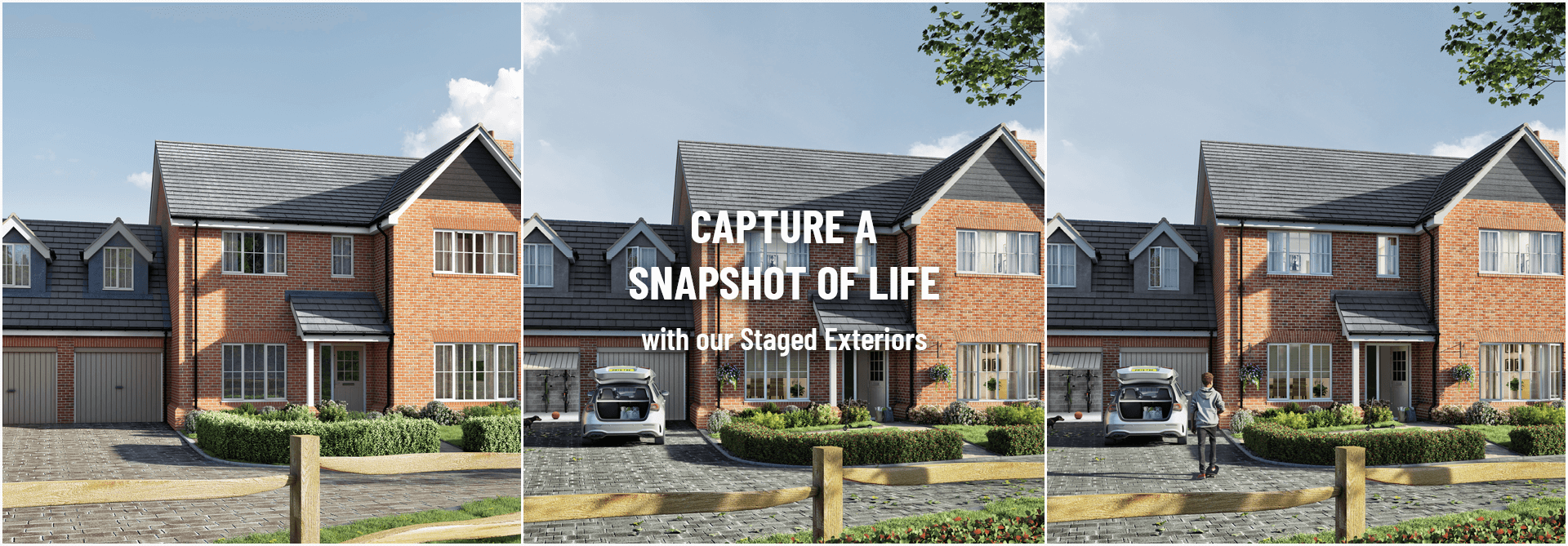 Staged Exteriors Image Foundry